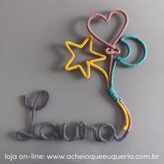 Laura + estrela + balão + lua