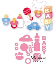 Marianne Design - Die - Collectables - Eline`s baby essentials