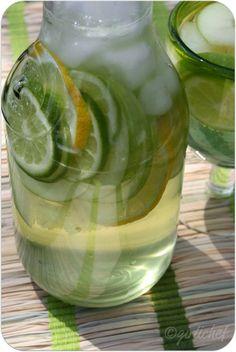 Sour Apple Sangria—no added sugar!