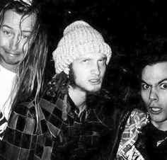 jerry cantrell, layne staley and mike starr - aic