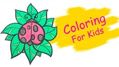 Coloring Pages For Kids With Bug Coloring Book - Pi n' Mo