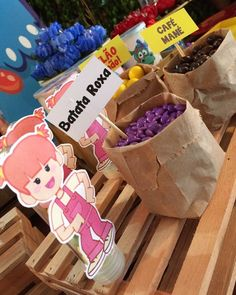 1st Birthday Parties, 2nd Birthday, Ideas Para Fiestas, Jar Gifts, Animal Party, Candy Colors, Party Time, Buffet, Diy And Crafts