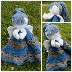 Ravelry: Angel Lovey pattern by Silverdragon Crafts & Critters