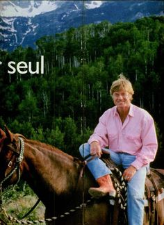 """""""Come rain, come shine, come snow, come sleet, the show must go on."""" Old Hollywood movies are glorious! I am likely to post a picture of Robert Redford every day. Robert Redford Movies, Old Hollywood Movies, Hollywood Men, Hollywood Stars, Celebrity Boots, Celebrity Guys, The Horse Whisperer, Ecuador, Men Are Men"""