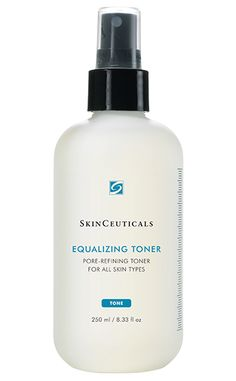 Formulated for all skin types, this alcohol-free toner helps balance, refresh, and restore the skin's protective pH mantle while removing residue. #toner #skincare #newport #oilfree #hazelnut #aloe #rosemary