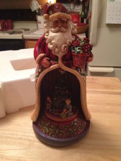 Christmas Spirit Lives Within Santa with Kids Jim Shore Heartwood Creek 4006647  - http://collectiblefigurines.net/jim-shore/christmas/christmas-spirit-lives-within-santa-with-kids-jim-shore-heartwood-creek-4006647/