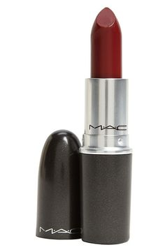 If I'm not buying a new red lipstick from MAC, then I'm looking for something moody. The brand has an extensive list of dark plum and brown shade. This burgundy shade called Diva made the bestseller list. I also love Cyber and Film Noir.