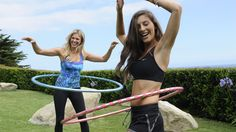 Fitness Travel Hoop Kit & DVD -Now this looks like fun