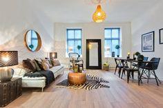 FINN – GRØNLAND V/BOTANISK HAGE - Lys, sjarmerende og arealeffektiv 3-roms med lekkert bad og peis. Rolig beliggenhet.