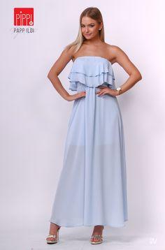 1d59fdf392 Imádjuk az örök kedvenc baba-kék árnyalatokat: egy nyári ruha esetében  könnyed és elegáns