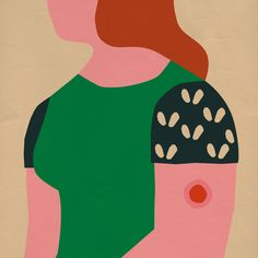 It's Nice That | Illustrator Anna Kövecses applies her minimalist style to editorial commissions