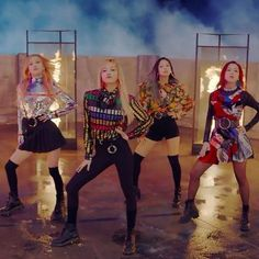 Stage Outfits, Dance Outfits, K Pop, Blackpink Playing With Fire, Blackpink Twitter, Lisa, Star Vs The Forces Of Evil, Girl Bands, Character Outfits