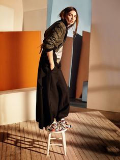 Carola Remer by Dan Martensen for Elle US May 2014 3