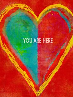 You Are Here Heart Wall Décor | Williams Lighting Galleries