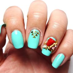Lacquered Lawyer | Nail Art Blog: Resting Beach Face