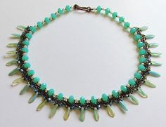 Sera Necklace Step By Step Tutorial Instructions for by bead4me, $8.00