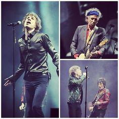 Tienen Rolling Stones sensacional debut en Glastonbury, ofrecieron una presentación de más de dos horas en su primera aparición en el festival en 50 años de carrera. Foto: EFE