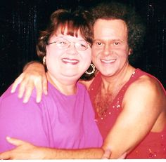 Me and Richard Simmons before I lost 100#