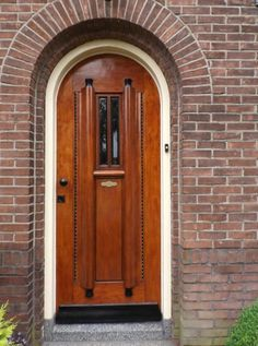Jaren30woningen.nl | Mooie #voordeur voor een #jaren30 woning