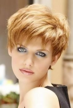 Hairstyles for Short Layered Hair Considerations : short hairstyles with layers. Short hairstyles with layers. hairstyles for short layered hair,how to style short layered hair,short layered hair,short layered haircuts,short layered hairstyles Short Hairstyles For Thick Hair, Very Short Hair, Bob Hairstyles, Short Haircuts, Hairstyle Short, Hairstyle Ideas, Layered Haircuts, Hairstyle Photos, Trendy Hairstyles