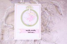 Team-Blog Hop Stempelherz - Babykarte Twinkle Twinkle - Stampin'Up! mit stempelherz