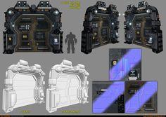 Sci-Fi Module - Door [UDK] by amirabd2130 on DeviantArt
