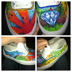 DIY vans. By dillon hansen