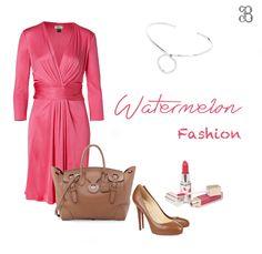 La tendencia Watermelon Fashion, combina perfecto con este collar. ¿Te gusta?  #collares #jewerly #silver #plata #fashion #moda