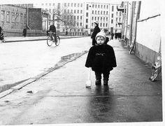 Фотография - Малые Каменщики,вид на Народную улицу - Фотографии старой Москвы Moscow, Russia