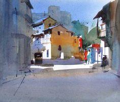 Milind Mulick #watercolor jd