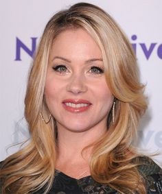 Christina Applegate Hairstyle - Long Straight Casual - Medium Blonde