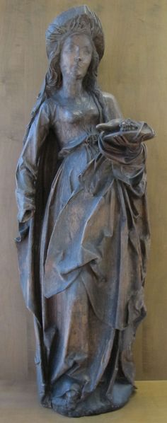 Tilman riemenschneider (bottega), sant'elisabetta di turingia, da würtzburg, 1510 ca. - Category:Tilman Riemenschneider - Wikimedia Commons