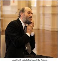 Arvo Part, the Estonian composer.  His music is otherworldly.