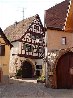 Une rue de Gueberschwihr