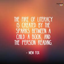 Literacy Quotes, Teacher Quotes, Prek Literacy, Education And Literacy, Literacy Skills, Early Literacy, Reading Quotes, Book Quotes, Children's Literature