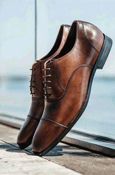 brown formal shoes #MensFashion