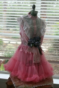Vintage Dress Form Junk Gypsy Prom Style | Flickr - Photo Sharing!