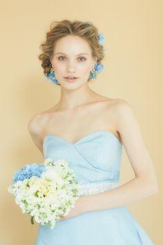 #NOVARESE #wedding #accessory #ring #earring #hedaccessory #styling #hair #Vintage #flower #blue #ribbon #ノバレーゼ #ウエディング #アクセサリー #リング #イヤリング #スタイリング #髪型 #ヘッドアクセサリー #フラワー #dress #ドレス