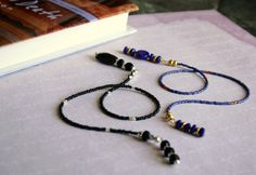 Project 3: Simple Beaded Bookmarks | The Craft Floozy