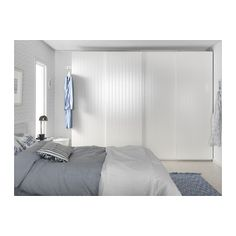 BERGSFJORD Pair of sliding doors - 150x201 cm - IKEA