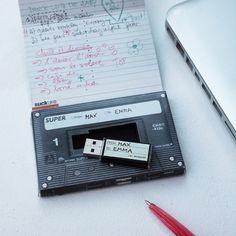 """van harte   Retro """"Kassetten-Mix"""" USB-Stick   einfach & schnell online bestellen"""