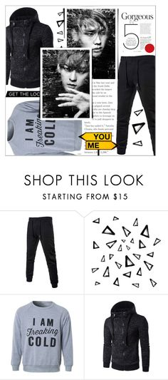 """""""Rosegal 47/ II"""" by emina-095 on Polyvore featuring Nika, men's fashion, menswear, polyvoreeditorial and rosegal"""