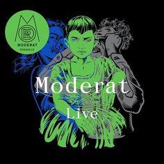 Moderat - Live Vinyl 2LP July 7 2017 Pre-order