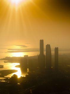 ABU DHABI - Etihad Towers