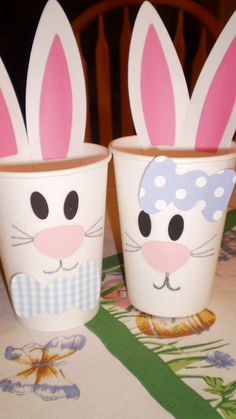 Easter Bunny Cups!  Thank you for my SILHOUETTE