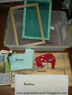 ¿Cómo elaborar papel artesanal? posted on aug. 30, 2010 (papeldelviento.blogspot.com)