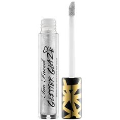 New at #Sephora: Too Faced Glitter Glaze Sparkling Shadow Top Coat #makeup #eyes #eyeshadow