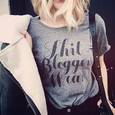 I just discovered this while shopping on Poshmark: 35mm Clothing Jesse 'Sh*t Bloggers Wear' Pocket T. Check it out! Price: $16 Size: Various