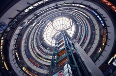 Vertical Horizons photos du ciel à partir du sol au milieu des buildings   Vertical Horizon photos du ciel par le sol hong kong 7