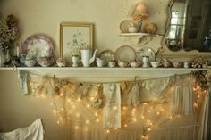 I'm not sure if she is a member of ATAA or not, but this needs to be shared! I've been there before, it's wonderful!  Click here to see it all: http://warrengrovegarden.blogspot.com/2014/04/shabby-chic-romantic-tea-room.html   Aiken House & Gardens: Shabby Chic Romantic Tea Room